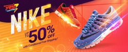 Offers from Nike in the Kuala Lumpur leaflet