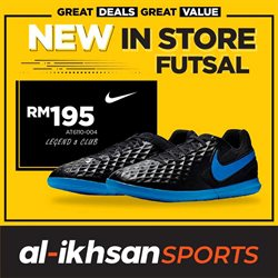 Sport offers in the Al-Ikhsan catalogue in Penang