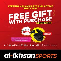 Sport offers in the Al-Ikhsan catalogue in Sunway-Subang Jaya