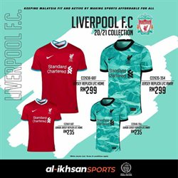 Sport offers in the Al-Ikhsan catalogue in Kuala Lumpur ( 8 days left )