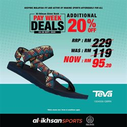 Sport offers in the Al-Ikhsan catalogue in Shah Alam ( Expires today )