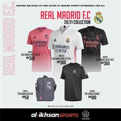Sport offers in the Al-Ikhsan catalogue in Shah Alam ( More than a month )