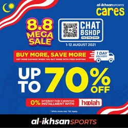 Sport offers in Al-Ikhsan catalogue ( Published today)