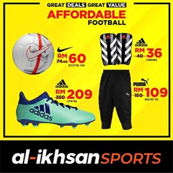 Sport offers in the Al-Ikhsan catalogue in Johor Bahru