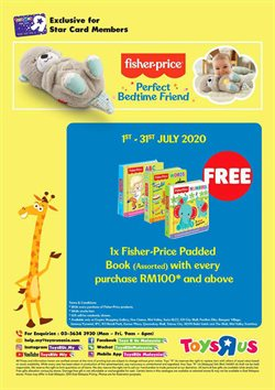 Kids, Toys & Babies offers in the Toys R Us catalogue in Klang ( Published today )