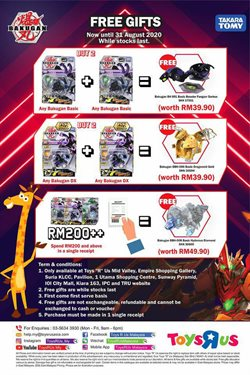 Kids, Toys & Babies offers in the Toys R Us catalogue in Kota Bharu ( 22 days left )