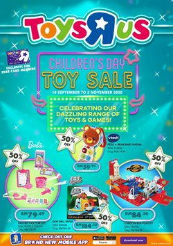 Toys R Us catalogue ( 3 days ago )