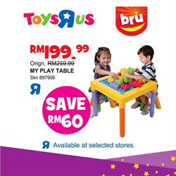 Kids, Toys & Babies offers in the Toys R Us catalogue in Kuala Lumpur