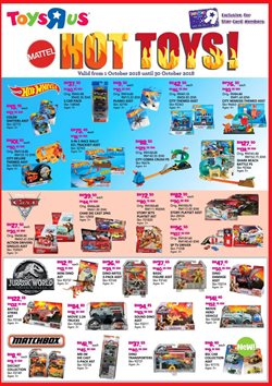 Offers from Toys R Us in the Penang leaflet