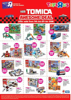 Offers from Toys R Us in the Klang leaflet