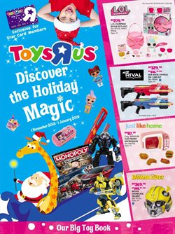 Offers from Toys R Us in the Petaling Jaya leaflet