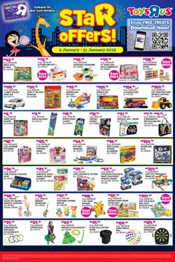 Toys R Us Catalogues Sale January 2019