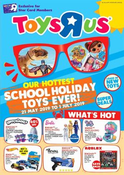 Sunway Pyramid offers in the Toys R Us catalogue in Petaling Jaya