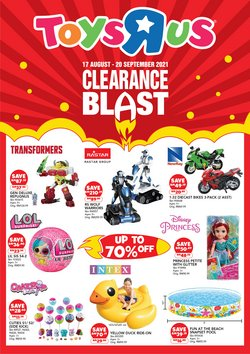 Kids, Toys & Babies offers in Toys R Us catalogue ( Expires today)