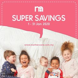 Kids, Toys & Babies offers in the Mothercare catalogue in Kuala Lumpur