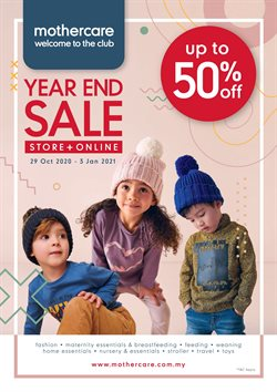 Kids, Toys & Babies offers in Mothercare catalogue ( Published today)