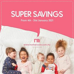 Mothercare offers in Mothercare catalogue ( 13 days left)