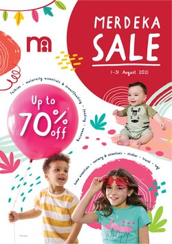 Mothercare offers in Mothercare catalogue ( 26 days left)