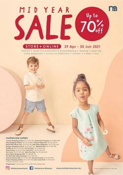 Kids, Toys & Babies offers in Mothercare catalogue ( 16 days left)