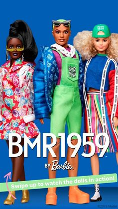 Barbie catalogue ( More than a month )