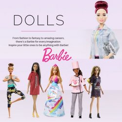 Barbie offers in Barbie catalogue ( Expired)