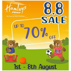 Kids, Toys & Babies offers in Hamleys catalogue ( 3 days left)