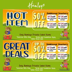 Kids, Toys & Babies offers in Hamleys catalogue ( 15 days left)