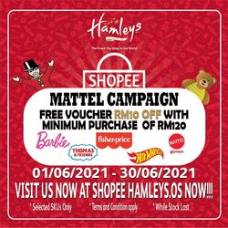 Kids, Toys & Babies offers in Hamleys catalogue ( 16 days left)