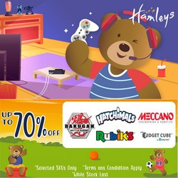 Kids, Toys & Babies offers in Hamleys catalogue ( 10 days left)