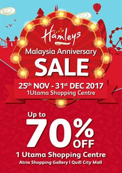 Offers from Hamleys in the Petaling Jaya leaflet
