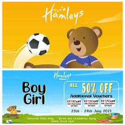 Kids, Toys & Babies offers in Hamleys catalogue ( Expires today)