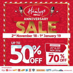 Offers from Hamleys in the Kuala Lumpur leaflet