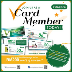 Offers from Vitacare in the Kuala Lumpur leaflet