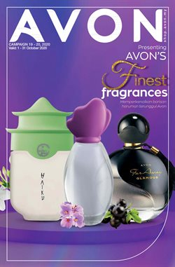 Perfume & Beauty offers in the Avon catalogue in Seremban ( 10 days left )