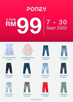 Kids, Toys & Babies offers in the Poney catalogue in Seremban ( Expires today )