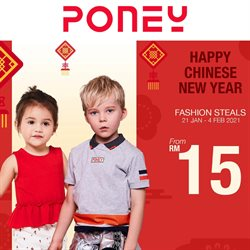 Poney offers in Poney catalogue ( Published today)