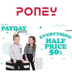 Poney offers in Poney catalogue ( Expired)