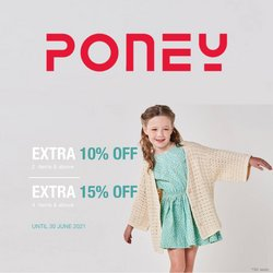 Poney offers in Poney catalogue ( 16 days left)