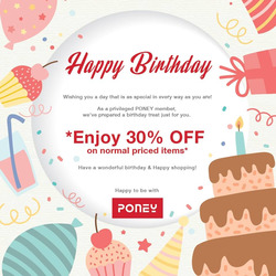 Offers from Poney in the Kuala Lumpur leaflet