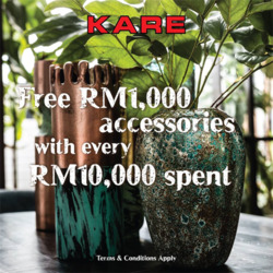 Offers from Kare Design in the Kuala Lumpur leaflet