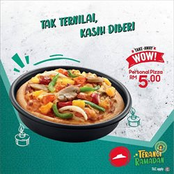 Pizza Hut catalogue in Penang ( 2 days left )