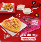 Pizza Hut coupon in Shah Alam ( 3 days left )