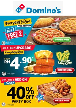 Domino's Pizza offers in Domino's Pizza catalogue ( 13 days left)