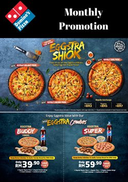 Offers from Domino's Pizza in the Kuala Lumpur leaflet