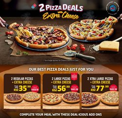 Restaurants offers in the Domino's Pizza catalogue in Penang