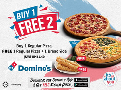Domino's Pizza coupon ( 2 days left )