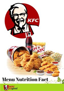 Offers from KFC in the Melaka leaflet