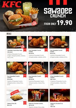 Restaurants offers in the KFC catalogue in Petaling Jaya