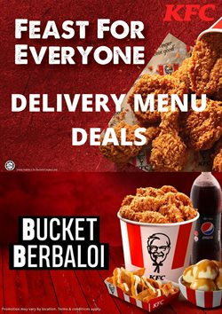 Restaurants offers in KFC catalogue ( Expires tomorrow)