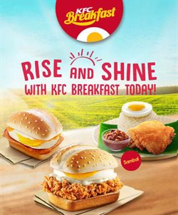 Restaurants offers in the KFC catalogue in Johor Bahru
